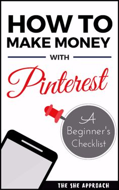 Make your first affiliate sale with Pinterest. Get your free checklist today and start making money from home today! A step to step guide to implementing affiliate links on your pins and making moeny with Pinterest (as a blogger), Free printable pinterest checklist for bloggers and biz owners on how to use pinterest affiliate links. Social media tips and a simple way to make money online while doing what you love! Free affiliate marketing ebook filled with blogging tips.