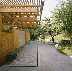 Plywood annex . It´s by Norwegian architect Carl-Viggo Hølmebakk,  located in Lindesnes, Norway.