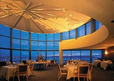 World Trade Center Seattle, Holland America Line Dining Room