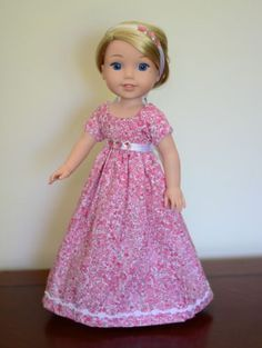 Regency-Dress-Outfit-Clothes-for-American-Girl-Wellie-Wishers