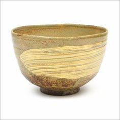 【茶道具 抹茶碗】茶碗 刷毛目 青伊羅保 中村与平作|芳香園