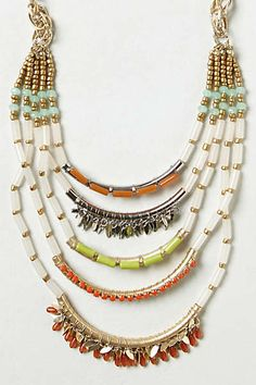Anthropologie - Corallina Ladder Necklace