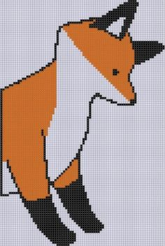 Fox Cross Stitch ... by Motherbeedesigns | Embroidery Pattern - Looking for your next project? You're going to love Fox Cross Stitch Pattern  by designer Motherbeedesigns. - via @Craftsy