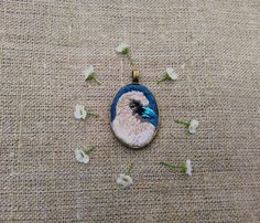 Check out this item in my Etsy shop https://www.etsy.com/ru/listing/451972386/hand-embroidery-pendant-bird-wood