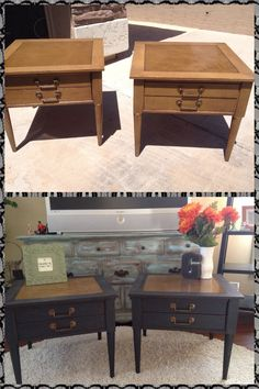 Before and after #repurposedfurniturebeforeandafter #thriftstorefurniture