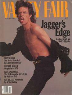 04-02-1992 Mick Jagger, cantante de The Rolling Stones. Edición USA