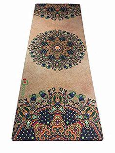 Amazon.com : Aozora Combo Yoga Mat. Luxurious, Non-slip, Grips More With Sweat. Ideal for Bikram, Hot Yoga, Ashtanga, Pilates, or Sweaty Practice. Foldable, Reversible, Eco-Friendly. (NewIndian) : Sports & Outdoors