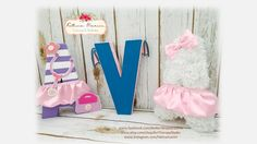 Decoration Party, Birthday Party Decorations, Party Themes, Birthday Parties, Fabric Letters, 3d Letters, Alphabet, Kids Room, Room Decor