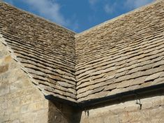Cotswold Stone Roof Tiles by Cotswold Stone Quarries Ltd