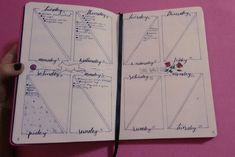 bullet journal weekly planner