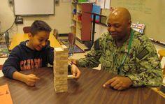 Mentoring program helps military kids