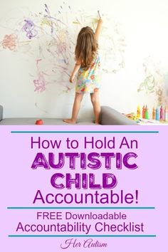 Do you struggle to know when and how to hold an autistic child accountable? Check out these tips on autism and accountability! Autism Teaching, Autism Education, Autism Parenting, Autism Classroom, Parenting Tips, Special Education, Parenting Issues, Parenting Articles, Parenting Styles