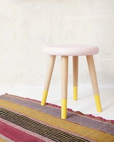 Stool, Indoor, Diy Decoration, Furniture, Home Decor, Templates, Table And Chairs, Painted Stools, Painted Wood