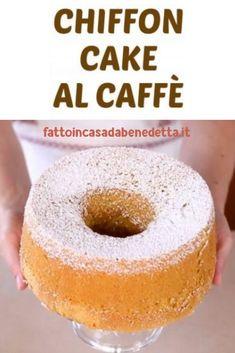Cinnamon Dolce, American Cake, Angel Cake, Chiffon Cake, Cake Cookies, Food Inspiration, Italian Recipes, Cake Recipes, Cake Decorating