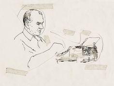 Graham Greene by Richard Kenworthy