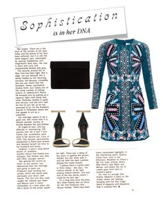 """""""Sophisticated"""" by nathaliagoomes on Polyvore featuring Yves Saint Laurent and Peter Pilotto"""