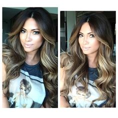 Love the look of the highlights. I would do this with blonde colors though.