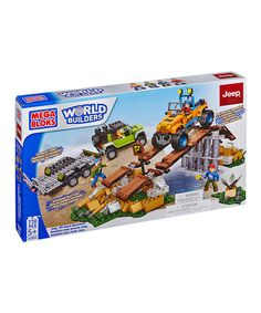 Another great find on #zulily! Jeep Off Road Adventure Block Set #zulilyfinds