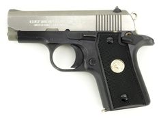 Colt Mustang .380 ACP caliber pistol. All steel pocket pistol with 2-tone finish. Near excellent condition with light wear. Price: $749.95 Item Number: C9918