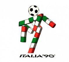 Ciao (Italia 1990)Se trataba de un muñeco construído en bloques con los colores de la bandera italiana (verde, blanco y rojo) con una pelota...