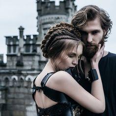 Take me..to the castle black. Ph @avine_ styled by me. #gameofthrones inspired. Team @d_nomore @aryan_snake @yaroslavtsev1 @nadin_pikman