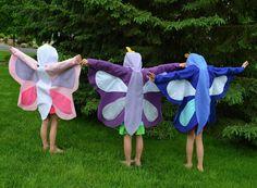 DIY Halloween DIY Costumes :DIY Animal Costume : DIY Bug Party - Butterfly Wings Tutorial