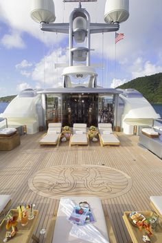 Most Luxurious Yacht Interior | Solemar - Yacht Charter - Amels Luxury Motor Yacht- Via ~LadyLuxury~
