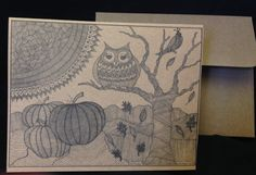 Hand Drawn  Rustic  Zentangle Style  Print by SnowflakeEclecticArt