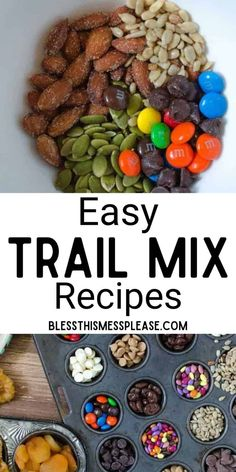 Easy Family Meals, Easy Meals, Family Recipes, Trail Mix Recipes, Snack Recipes, Trail Mix Kids, Bunco Snacks, Homemade Trail Mix, Clean Eating Meal Plan