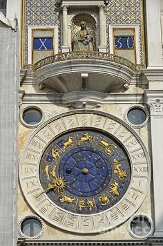 Clock Tower, Piazza San Marco, Venice