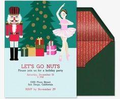 Nutcracker Ballet Invitation