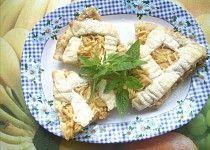 Jablečný linecký koláč