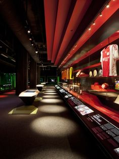 Ajax Experience Museum  by Sid Lee Architecture & gsmprjct°, Amesterdam, The Netherlands