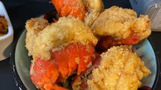 Lobster Dishes, Lobster Recipes, Seafood Recipes, Cooking Recipes, Chicken Breast And Shrimp Recipe, Deep Fried Lobster Tail Recipe, Lobster Tails, Lobster Bisque, Deep Fried Recipes