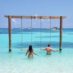 Club Med Kani: Maldives Ocean and swing!Club Med Kani: Maldives Ocean and swing! Maldives Destinations, Maldives Honeymoon, Visit Maldives, Maldives Resort, Maldives Travel, Travel Destinations, Maldives Wedding, Vacation Trips, Dream Vacations