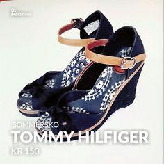 Se hva jeg selger på Tise Tommy Hilfiger, Wedges, Shoes, Fashion, Moda, Shoe, Shoes Outlet, Fashion Styles, Wedge