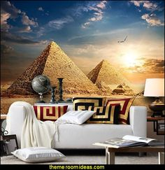 Egyptian style bedding and many more links to Egyptian furniture ...