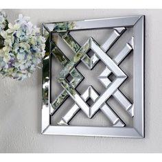 Mirror Panels, Mirror Wall Art, Mirror Set, Canvas Wall Art, Diamond Wall, Art Deco Diamond, Wall Decor Stickers, Wall Art Decor, Mirrored Bedroom Furniture