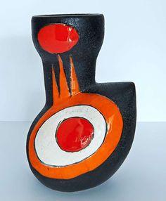 Vase by Les Archanges, Gilbert Valentin