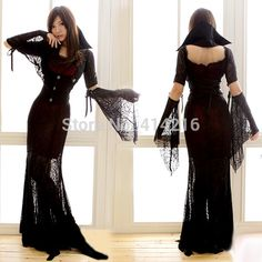 women Halloween costumes vampire queen witch zombies dress female emperor cosplay games Europe and America clothing-in Clothing from Novelty & Special Use on Aliexpress.com | Alibaba Group