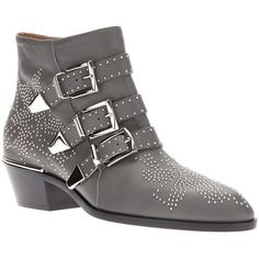 Chloe 'Susanna' buckled boot. I'll forever want these for now.