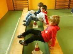for a gym obstacle course? Pe Activities, Motor Skills Activities, Gross Motor Skills, Kindergarten Activities, Physical Activities, Crossfit Kids, Kids Gym, Yoga For Kids, Exercise For Kids