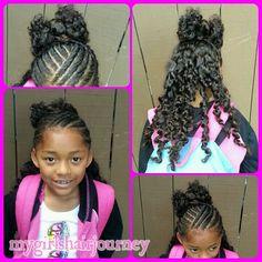 Twists ♥ HairBow ♥ TwistOut