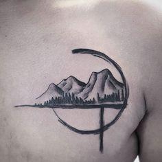 tattoo mountain ink art on Instagram