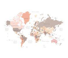 World Map Tapestry  World Map Wall Hanging  World Map Wall   Etsy