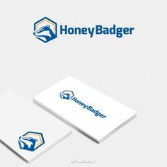 Honey Badger - Create an eye-catching logo for Honey Badger Bitcoin (BTM) Honey Badger BTM is a brand of ATM (Automated Teller Machine) Bitcoin machines. If you haven't heard of Bitcoin curre. Logo Finance, Financial Logo, Circle Logo Design, Custom Logo Design, Logo Design Trends, Logo Design Contest, Logo Inspiration, Logo Branding, Business Fonts