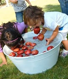Photo: Bobbing for apples! Just one of the FREE Halloween events. Also The Mummy Wrap Harvest Bowling Pumpkin decorating Scarecrow Building Face Painting The Dead Carpet. Marvel at the malevolent, sample the sinister and take in the ghoulish at a ghastly fun (and FREE) Halloween experience for all ages! Halloween Frights: October 17, 18, 19 and October 24, 25, 26 Halloween Fever Fright Night: October 31 This event is free https://www.facebook.com/events/566100873517296/ #YYC