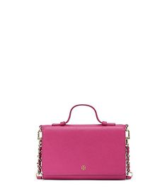 Tory Burch The Smartphone Cross-body | Light Oak | Our Smartphone Cross-Body is a marvel of multi-tasking. Made of the highest-quality, scratch-resistant leather, it's detailed with a roomy interior compartment that fits your mobile — an iPhone 6, 6s, 6 Plus or 6s Plus — or other small essentials. Featuring multiple pockets and card slots, it's a wallet by day, a bag by night — just add the strap.