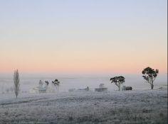 """White Blanket"", Long Swamp Road and Edwards Lane, Armidale, NSW, Australia (Terry Cooke via Flickr) England Australia, New England, Scenery, Celestial, Blanket, Sunset, Photography, Outdoor, Sunsets"