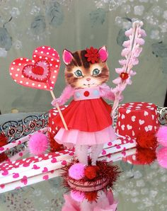 Vintage Inspired Christmas  SuGaR SwEeT Pink by saturdayfinds